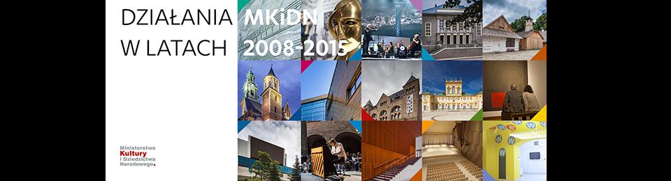 Raport Działania MKiDN w latach 2008-2015