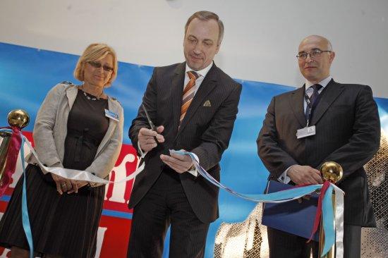 Minister Bogdan Zdrojewski otwiera II Edycję Warszawskich Targów Książki Foto Danuta Matloch