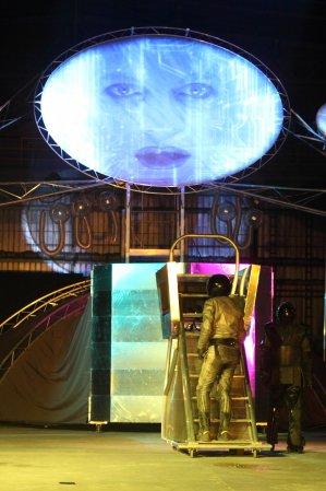 """""""Planeta Lem"""" w wykonaniu Teatru Biuro Podróży. fot. Jakub Wittchen"""