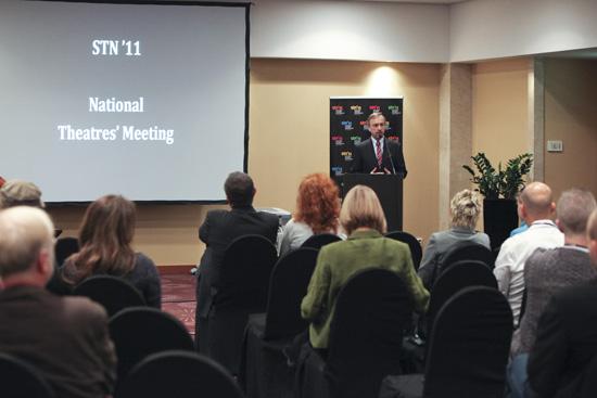 Minister Bogdan Zdrojewski inauguruje Spotkanie Teatrów Międzynarodowych