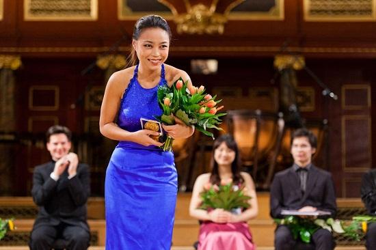 Złoty medal H.Wieniawskiego otrzymała Soyoung Yoon