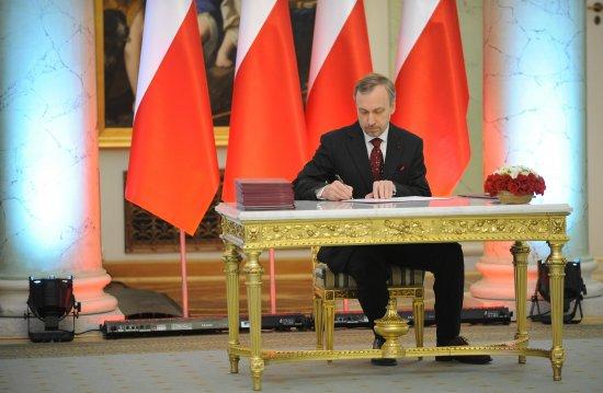 Bogdan Zdrojewski Ministrem Kultury i Dziedzictwa Narodowego