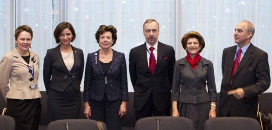 Wizyta ministra kultury w Brukseli