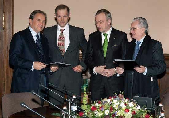 Minister Kultury i Dziedzictwa Narodowego Bogdan Zdrojewski z wizytą w Rosji
