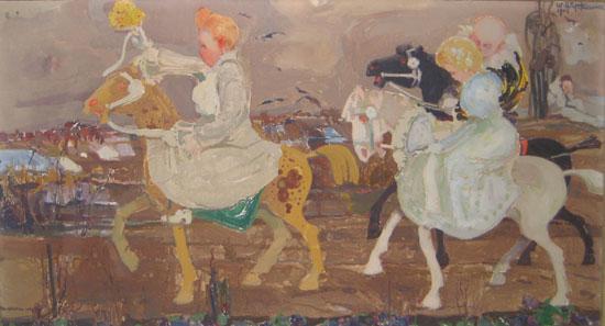 Odzyskano zaginiony obraz Witolda Wojtkiewicza