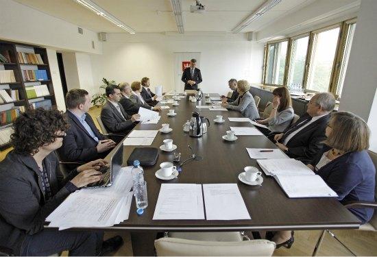 Pierwsze posiedzenie Rady ds. Narodowego Zasobu Bibliotecznego