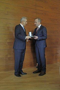 Minister Bogdan Zdrojewski uhonorowany przez władze Saksonii