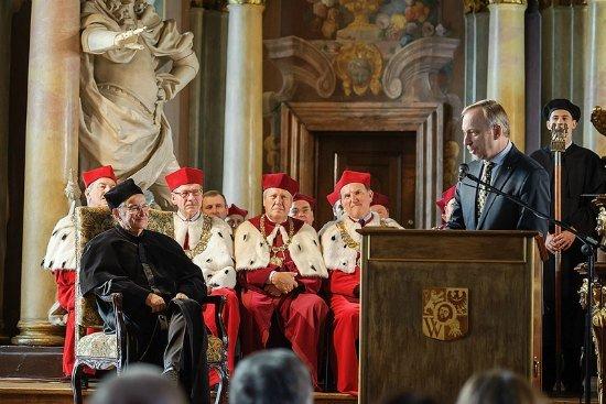Inauguracja roku akademickiego we Wrocławiu /Fot. Mariusz Mikołajczyk/