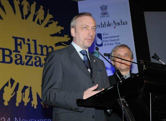Targi branży filmowej FilmBazaar podczas których zaprezentowano polsko-indyjskie projekty filmowe
