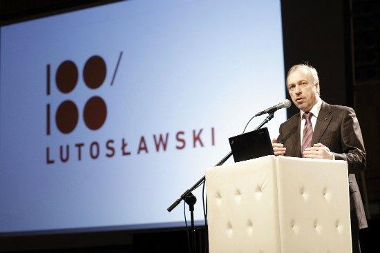 2013 – Rokiem Lutosławskiego