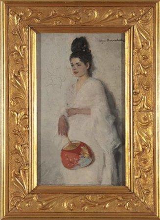 Japonka. Olga Boznańska