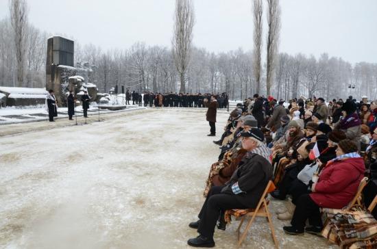 Fot. Bartosz Bartyzel Uroczystości 68. rocznicy wyzwolenia Auschwitz