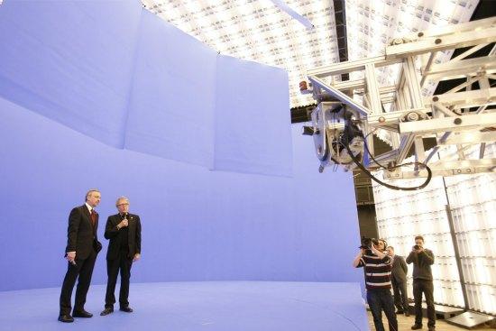 Nowoczesne studio technologii wizualnych CeTA- otwarte