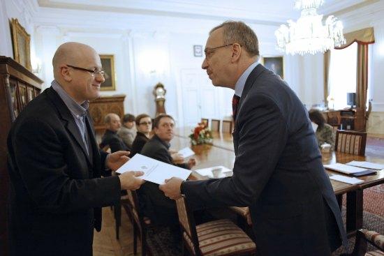 Wręczenie powołań członkom Rady Programowej Żydowskiego Instytutu Historycznego