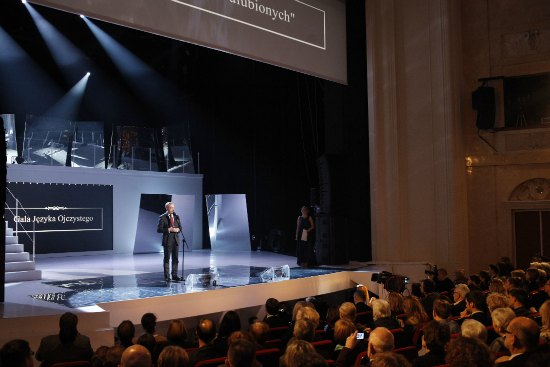 Gala Języka Ojczystego,  zorganizowana w ramach kampanii społeczno-edukacyjnej Ojczysty - dodaj do ulubionych