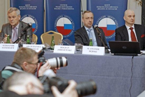 Konferencja Centrum Polsko - Rosyjskiego Dialogu i Porozumienia