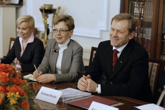 Minister Kultury Republiki Litewskiej Šarũnas Birutis z wizytą w Polsce