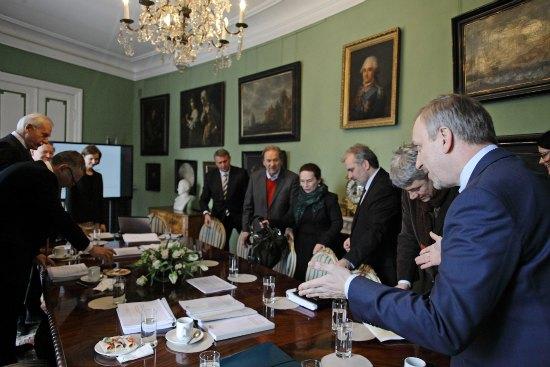 Rada Muzeum Łazienki Królewskie: podsumowanie roku 2012 i wręczenie nominacji nowym członkom Rady