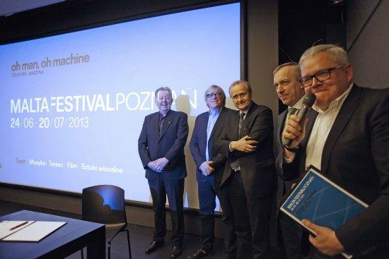 Malta Festival Poznań 2013 - konferencja prasowa