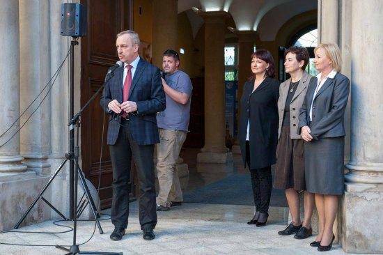 Inauguracja Nocy Muzeów we wrocławskim Pałacu Królewskim