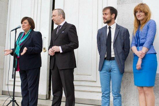 Uroczysta inauguracja Pawilonu Polskiego na 55. Międzynarodowej Wystawie Sztuki w Wenecji