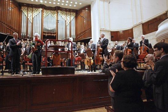 Pożegnanie Antoniego Wita - Dyrektora Naczelnego i Artystycznego Filharmonii Narodowej