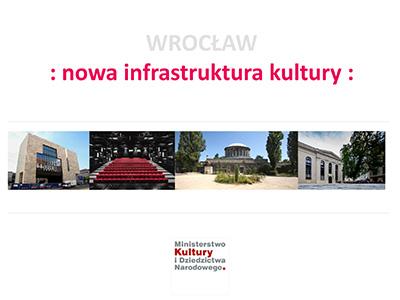 Nowa infrastruktura kultury we Wrocławiu