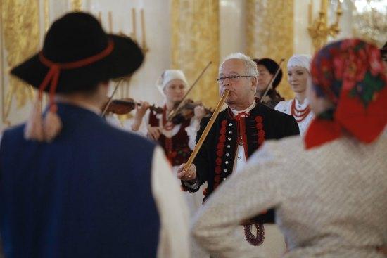 Występy zespołów ludowych podczas zeszłorocznej ceremonii wręczenia nagród im. Oskara Kolberga. Fot. Danuta Matloch/MKiDN