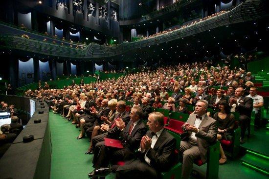 Uroczystość otwarcia budynku Opery i Filharmonii Podlaskiej,  28 września 2012. fot. Wojciech Oksztol