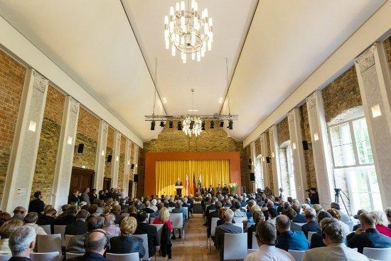 Przemówienie ministra Bogdana Zdrojewskiego. fot. Bundesregierung/Haufe