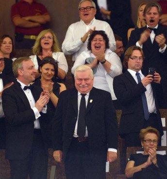 Wenecka premiera filmu Wałęsa. Człowiek z nadziei - fot. PAP