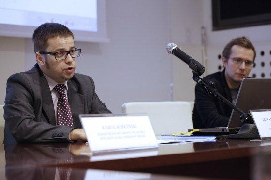Prezentacja raportu o funkcjonowaniu elektronicznego rynku treści muzycznych w Polsce. fot. Danuta Matloch