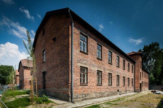 Muzeum Auschwitz,  Bloki A-2 i A-3 fot. Mariusz Lis
