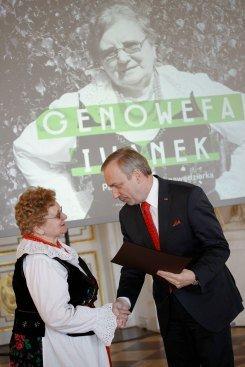 Uroczystość na Zamku Królewskim w Warszawie – Nagroda im. Oskara Kolberga . Fot.: Danuta Matloch