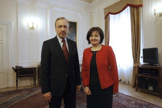 Minister Kultury Republiki Mołdawii z wizytą w Polsce. Fot.: Danuta Matloch