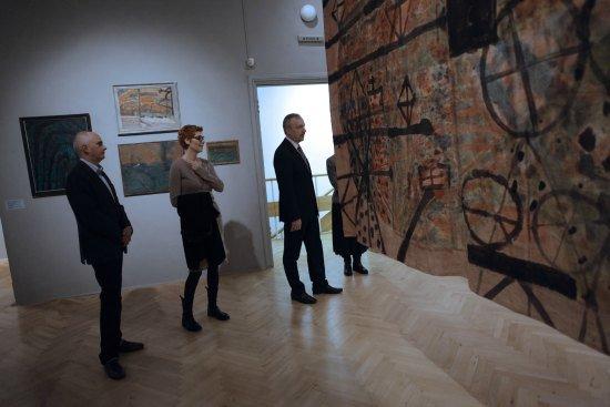 Minister Bogdan Zdrojewski w warszawskim Teatrze Studio fot.: Danuta Matloch