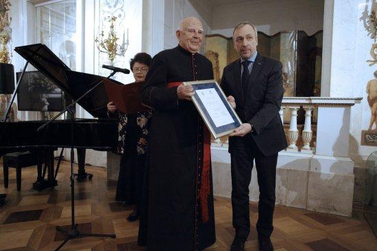 Ceremonia wręczenia wyróżnień. fot.: Danuta Matloch