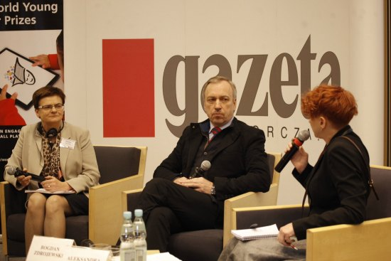 Debata nt. promocji czytelnictwa wśród młodych ludzi. fot.: Dantua Matloch