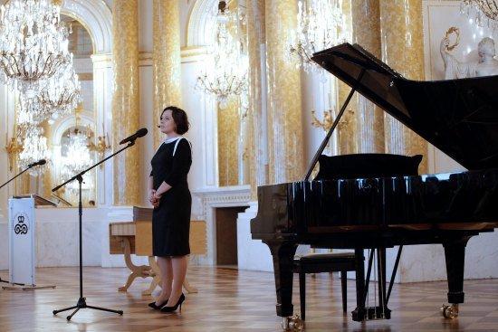 Wiceminister Monika Smoleń podczas ceremonii wręczenia nagród. fot.: Danuta Matloch