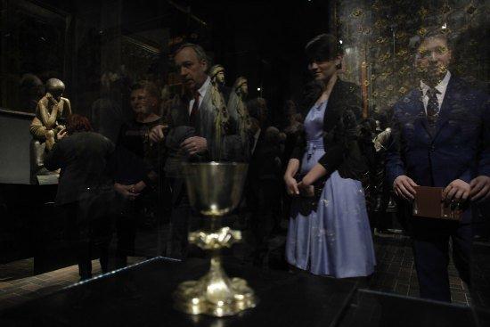 Nowa aranżacja Galerii Sztuki Średniowiecznej MNW. fot.: Danuta Matloch