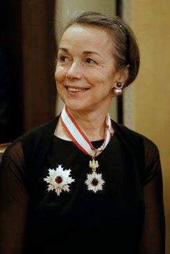 Ceremonia uhonorowania Radcy Generalnego MKiDN dr Jadwigi Marii Rodowicz-Czechowskiej przez rząd Japonii fot. Danuta Matloch/MKiDN
