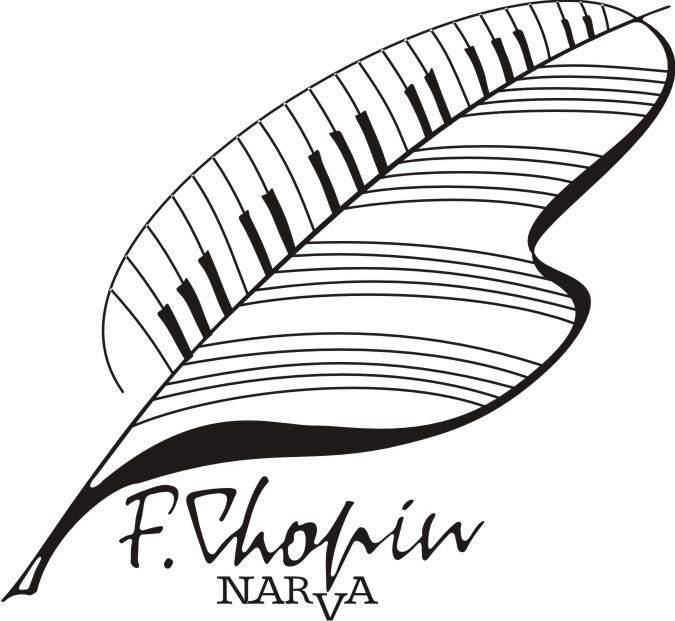 Logo - Jubileuszowy,  X Konkurs Chopinowski w Narwie