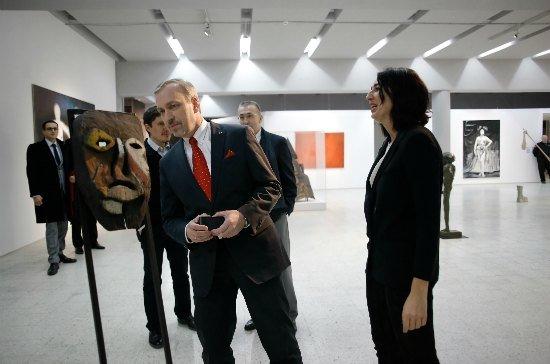 Nowe wystawy w Muzeum Sztuki Nowoczesnej. fot. Danuta Matloch