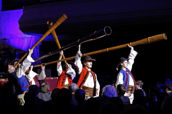 Koncert w Filharmonii Narodowej w Warszawie zatytułowany Od Kujawiaka do Krzesanego,  oficjalnie zainaugurował 24 lutego Rok Oskara Kolberga. fot. Danuta Matloch