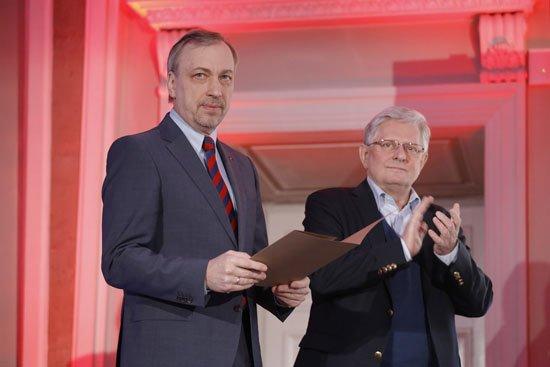 Uroczystość wręczenia wyróżnień laureatom rankingu Instytutu Książki i Rzeczpospolitej oraz dyplomy za zasługi dla promocji czytelnictwa. Fot: Danuta Matloch