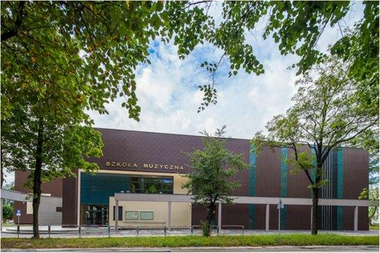 Siedziba Państwowej Szkoły Muzycznej I i II stopnia  w Kielcach