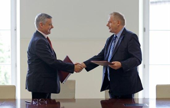 Podpisanie umowy na dofinansowanie Muzeum Zamkowego w Malborku