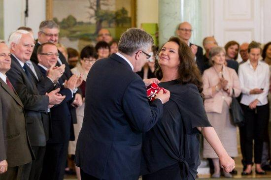 Prezydent odznaczył zasłużonych twórców kultury