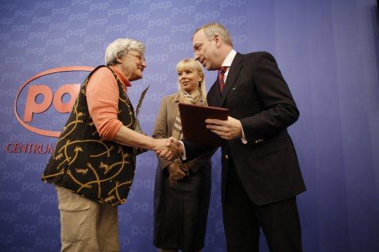 Wręczenie Nagrody PAP Pióro Wolności