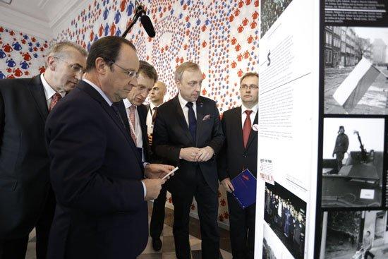 Prezydent Francji w Kordegardzie